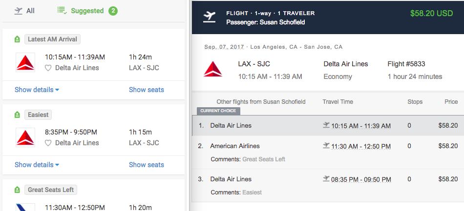 sending trips