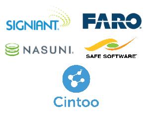 Signiant-FARO-Cintoo-Nasuni-Safe Software