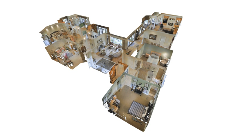 An inside view of a Matterport space