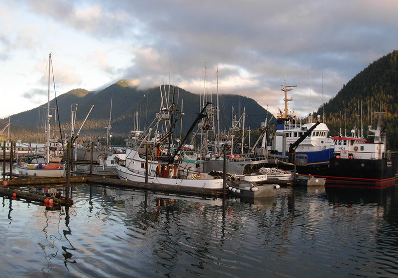 Fishing boats tied up in Petersburg, Alaska. Creative Commons photo by Flickr user brewbooks. jobs