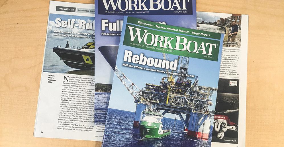 WorkBoat magazines