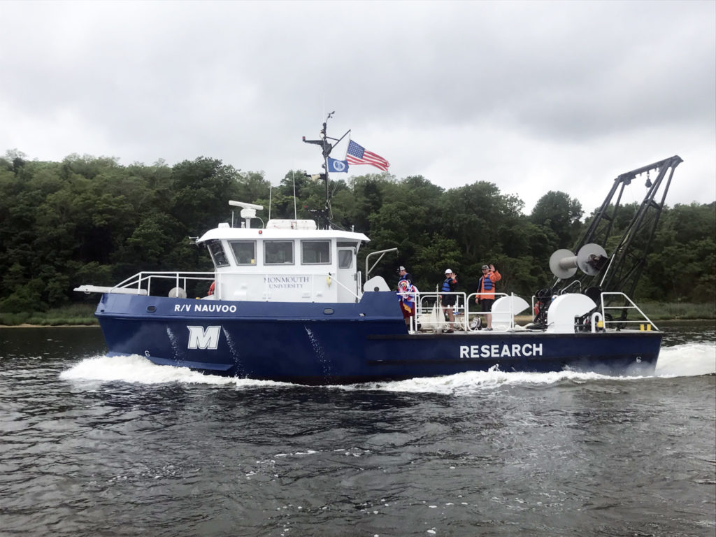 The Nauvoo in 2018, after a refit at Yank Marine. Monmouth University photo.