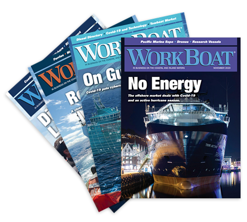 WorkBoat magazines