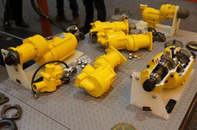 Marine products on display